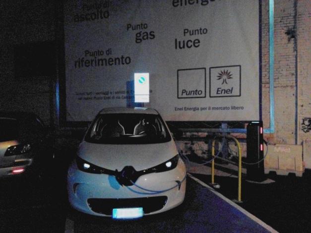 Piacenza - sotto la sede dell'ENEL